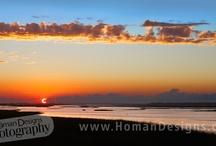 Sunsets I photographed