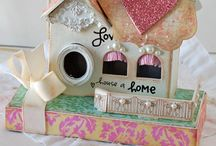 Crafty | Houses / by Tammy @ Not Just Paper and Glue