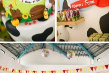 Miles' 1st Birthday / by Aimee Swindall