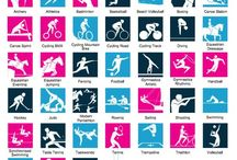 Olympic Games sports icon