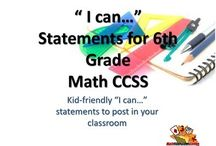 "MATH CCSS ""I Can"" Statements / MATH CCSS ""I Can"" Statements {Editable PowerPoint Included}  Here are kid friendly ""I Can"" statements for each of the CCSS, with relevant pictures/images to help students remember what they are learning. Start using these during math discussions and lesson wrap-ups. Post them within your room for students to refer to.   Included is a pdf file AND a editable PowerPoint file, so you can make changes as you see fit."
