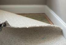 removing carpet