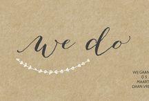 Panorama trouwkaarten / Ben je opzoek naar iets wat je nog niet meer hebt gezien in je omgeving toen bekende gingen trouwen? Dan zijn onze panorama & langwerpige trouwkaarten voor jou het perfecte idee!