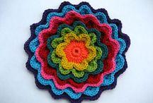 Crochet para Carpetas / by Rosi Balle