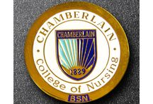 Nursing Pins / Proudly wearing the pins that signify all of your accomplishments and success.