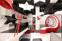 Leo Burnett Moscow / Nefa Architects / GIANT Floor Lamp by Anglepoise