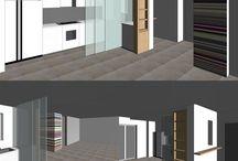 Kitchen  Interior design 2016 / Penisola
