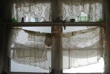 Vintage curtains / by Heather Phillips