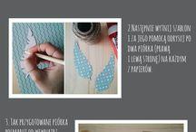 DIY MAFOdesign / Instrukcje krok po kroku jak samemu wykonać niebanalne dekoracje :)