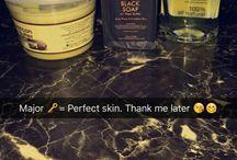 Dark skin care