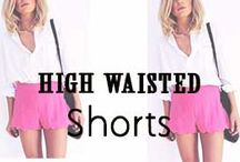 High Waisted Shorts / Tips & Tricks to rocking High Waisted Shorts #missesdressy // http://www.missesdressy.com/blog/tips-and-tricks-for-wearing-high-waisted-shorts.html