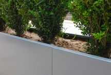 10 Hammersmith Grove | Our Work / Bespoke steel street planters were commissioned for this new landmark office development in West London, immediately opposite the Lyric Theatre and Hammersmith Station.