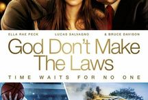 "God Don't Make The Laws (Movie) / (Short Synopsis) ""A tragic accident and a deal with the devil leaves a small town literally frozen in time. But when a mysterious visitor appears decades later, they soon discover that time waits for no one."" (Starring) Paul Sorvino (Goodfellas, Romeo + Juliet), Ella Rae Peck (CW's Gossip Girl, The Call, Young Adult), Bruce Davison (X-Men, X2, TV's Harry and the Hendersons), and Robert Prescott (Bachelor Party, Burn After Reading, The Bourne Legacy). / by Green Apple Entertainment"
