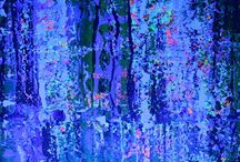 UV. Neon painting ART -UV. / neon painting one