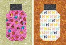 Quilt Blocks. Paper Piecing Patterns.