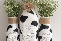decor: kitchen: cows