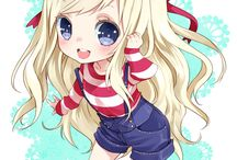 Anime chibi:-) GIRLS