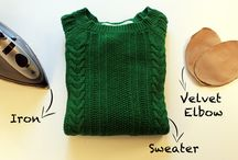 Chic DIY Sweater Makeovers
