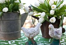 Easter Home Decor / Charming Easter decorations perfect for spring celebrations.