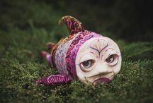 Koshicat art - Dolls / My art