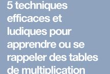 tables multiplication