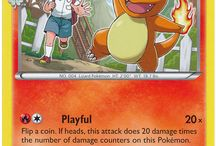 Charmander / Charmander (Japanese: ヒトカゲ Hitokage) is a Fire-type Pokémon. Charmander evolves into Charmeleon starting at level 16, which evolves into Charizard starting at level 36. Along with Bulbasaur and Squirtle, Charmander is one of three starter Pokémon of Kanto available at the beginning of Pokémon Red, Green, Blue, FireRed, and LeafGreen.