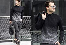 Stylish men's dress