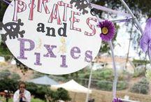 Pirate Fairy / Pirate Pixie Birthday Party