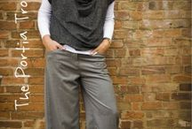 CS - Patterns for Trousers / Sewing pattern suggestions for beginner dress making lessons for trousers.