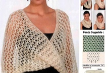 Knitting : wrap, loose and slouchy