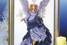 Angels Cross Stitch