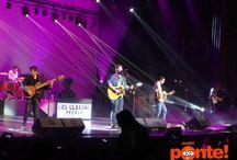 ¡Los Claxons! /  En concierto, CCU, Puebla. Exa 98.7fm