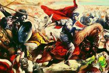 Eőry Emil - A várnai csata (Jan Matejko festménye alapján)