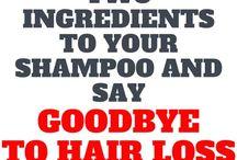 Hair loss shampoo remady