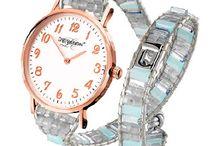 Beautiful watchs and other interesting jewellery / Dámské hodinky a šperky.