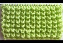 pletený vzor ježko