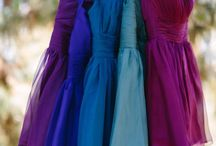Jewel Tone Weddings / The hottest color trend right now, Jewel Tones!
