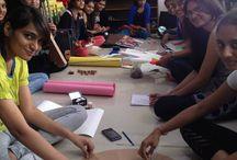 Props making workshop by INIFD Gandhinagar