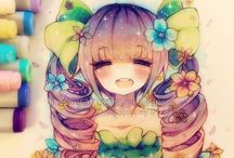 Arte de anime.. Copic Markers♥ / Me Encanta ♥^^