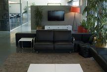Oficinas con alma / Oficinas con un diseño que convierten un espacio de trabajo en un lugar agradable y con alma.