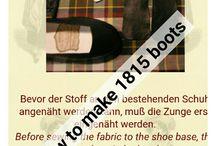 Historic footwear
