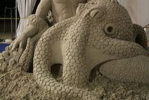Sand sculptures / by Lynette Ferrari Hoffman