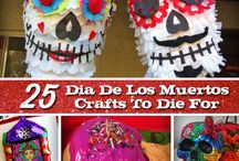 Dia de los Muertos / Ideas and images for What's for Dinner placemats