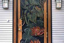Doors and door knockers