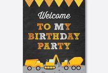 Kids Birthday Party Printables