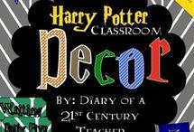 Harry Potter Classroom!!!