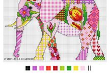Patchwork cross-stitch