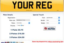 Personalized your Road Legal Number Plates