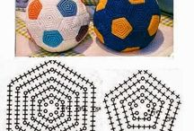 almohadon en crochet
