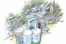 Jazierko, voda v záhrade